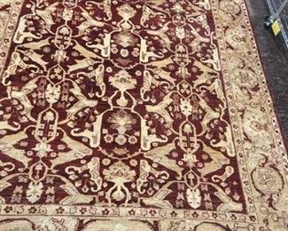 079h Kurdish Wool Rug Pakistan