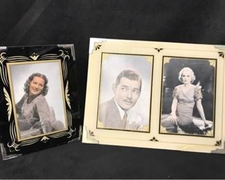 347gBig Screen Stars in Deco Frames