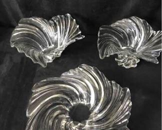 348gMilkasa Belle Epoque Glass Bowls