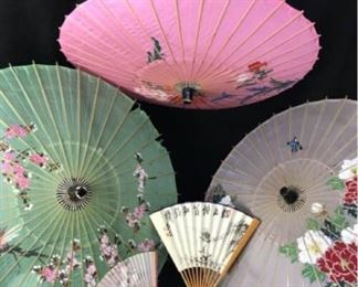 360gJapanese Umbrellas and Fans