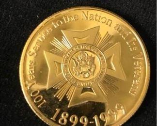 397gVeterns Challenge Coin