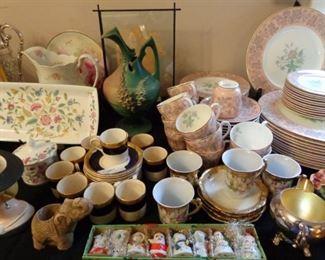 Minton (Haddon Hall), Roseville, Crown Ducal Porcelain