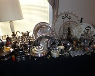 Additional view of Silver Plate Items