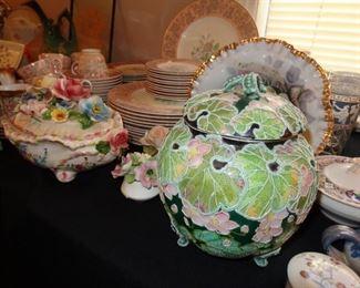 Moriage Porcelain