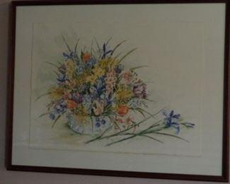 Lovely Original Water Color by Teen de Roode,