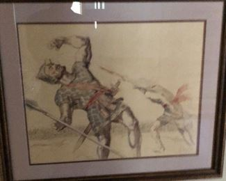 signed original art work