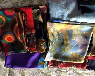 nice silk Italian scarfs