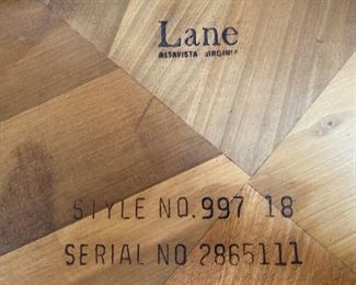 Small scale vintage Lane Altavista side table