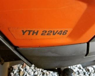 Husqvarna YTH22V46 with 209 hours