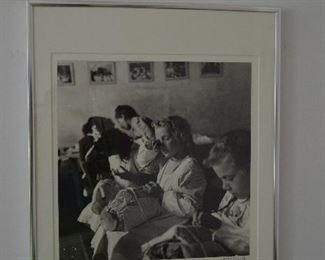 """signed photo by tony vacarro  """"tired eyes"""""""