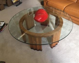Another piece from Roche Bobois - Art Deco styled coffee table.