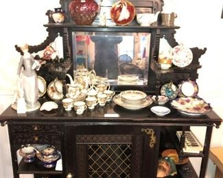 Victorian etagere