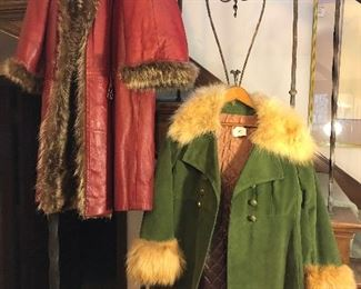 Vintage clothing and coats