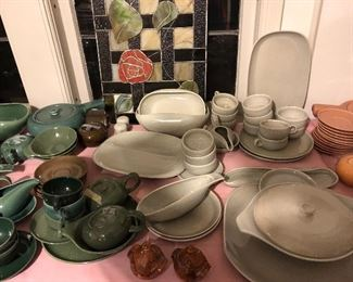 Russel Wright China just unpacked