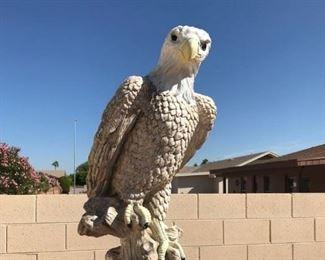Life-Size Eagle Statue