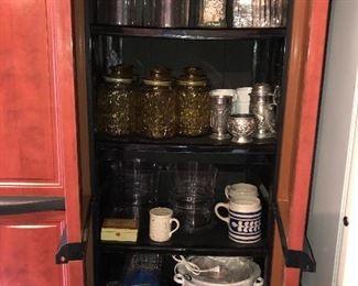 Glass Storage, Kitchen Equipment