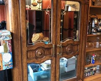 Two Door Mirrored Amoire
