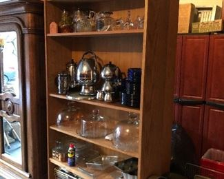 Coffee Makers, Glass Cake Domes, Serving Pieces
