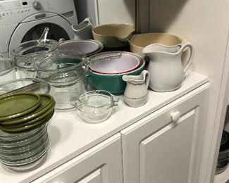 Mixing Bowls, Glass, Ceramic, etc