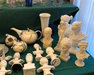 Classical Busts - Parian and Ceramic