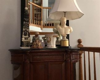 Table Lamps, Mirrors