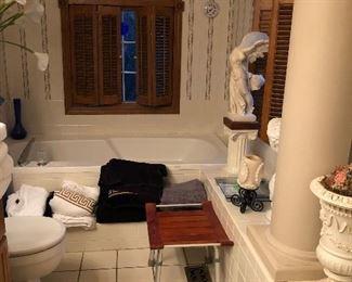 Bath Items, Statues