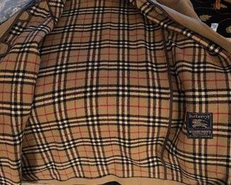 Burberry Mens Coat