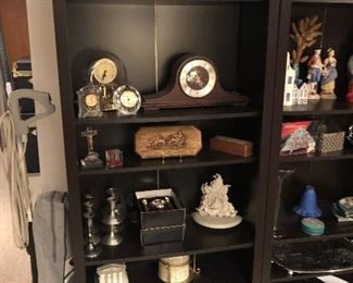 Decoratives in Bookcases