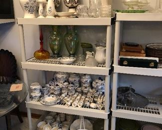 Blue Onion Ceramics, Assorted Decoratives