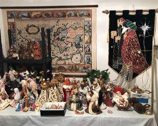 Nativity Table
