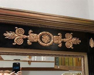 Wall Mirror, Top Decoration