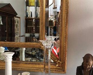 Closeup of mirror