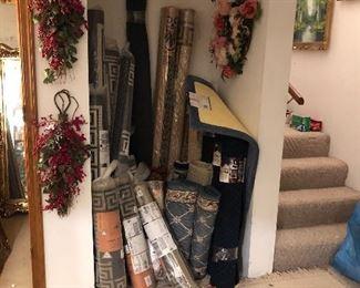 Rugs, Wreaths
