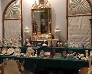 View of Porcelain Table
