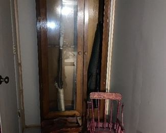 Gun Cabinet - missing one panel of glass