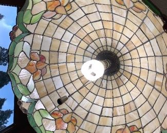 Gorgeous Stained Glass Chandelier Lighting Fixture