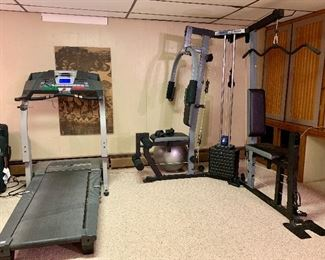 January 1st is coming!  Exercise equipment