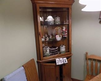 Lot 251 - Corner Cabinet (Cabinet Only)