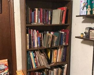 Books: sports, religious, wood working, etc
