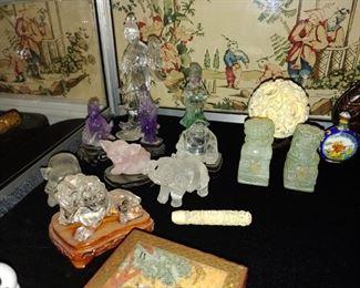 Oriental Crystal Figures