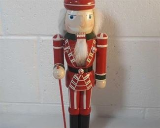 "16"" Holiday Elegance Santa's Guard Nutcracker"
