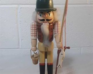 "10"" Fisherman Nutcracker"