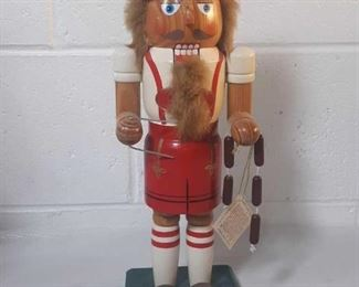 "14"" Beer Maker Nutcracker Limited Edition"
