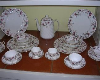 Minton service for 12