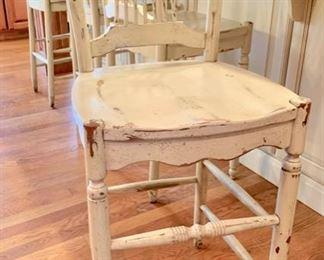 "8. Set of 4 Habersham Counter Chairs (seat ht 25"")"