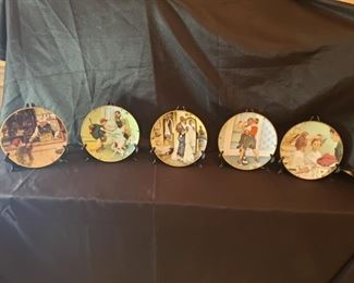 002 Norman Rockwell Collectible Plates
