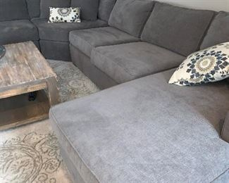 Radley sectional sofa made for Macy's