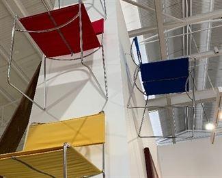 Italian zipper chairs