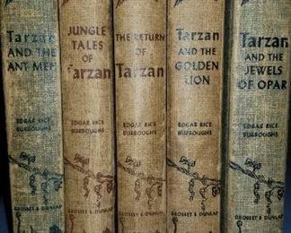 Tarzan by Edgar Rice Burroughs early 1900s