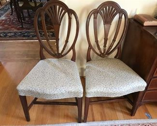 Pair of Federal chairs, possibly Philadelphia